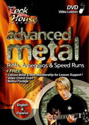 Rent Advanced Metal: Riffs, Arpeggios and Speed Run Online DVD Rental