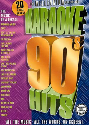 Rent The Millennium Collection: Karaoke 90s Hits Online DVD Rental