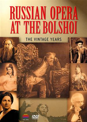 Russian Opera at The Bolshoi: The Vintage Years Online DVD Rental