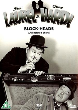Rent Laurel and Hardy: Vol.7: Block Heads Online DVD Rental