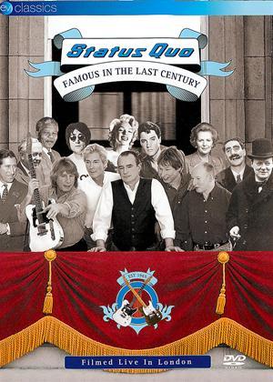 Status Quo: Famous in the Last Century Online DVD Rental