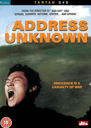 Address Unknown Online DVD Rental