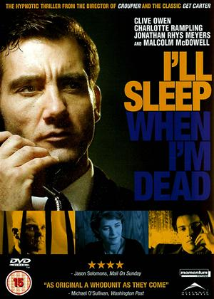 I'll Sleep When I'm Dead Online DVD Rental