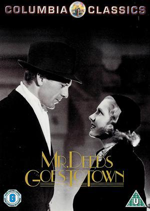 Rent Mr Deeds Goes to Town Online DVD Rental