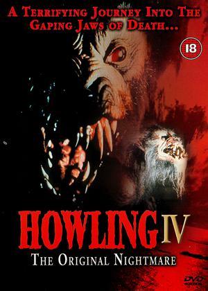 Howling 4 Online DVD Rental