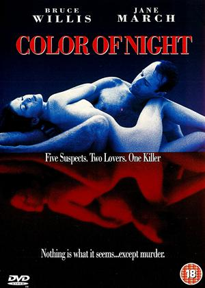 Rent Color of Night Online DVD Rental