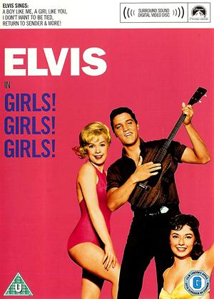 Rent Elvis Presley: Girls Girls Girls Online DVD Rental
