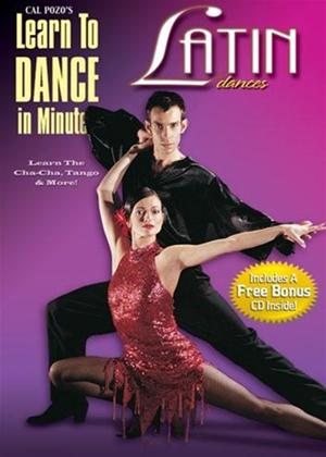 Learn to Dance in Minutes: Latin Dances Online DVD Rental