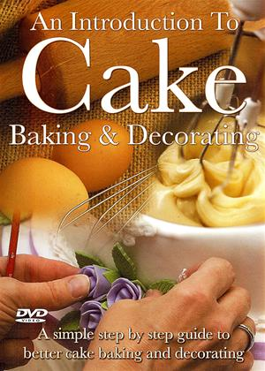 Rent An Introduction to Cake Baking and Decorating Online DVD Rental