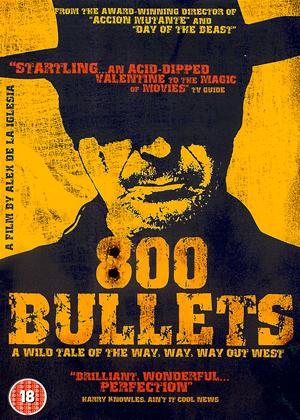 800 Bullets Online DVD Rental