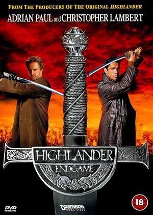 Highlander: Endgame Online DVD Rental