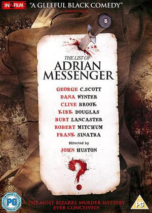 The List of Adrian Messenger Online DVD Rental