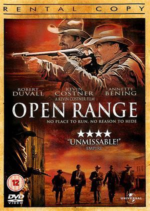 Open Range Online DVD Rental
