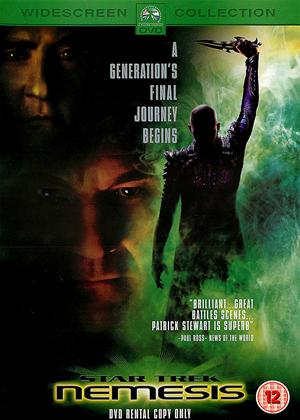 Rent Star Trek 10: Nemesis Online DVD Rental