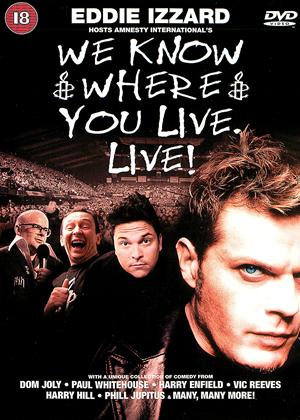 Rent We Know Where You Live Online DVD Rental