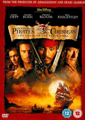 Rent Pirates of the Caribbean 1: The Curse of the Black Pearl Online DVD Rental