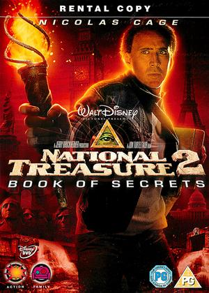 Rent National Treasure 2: The Book of Secrets Online DVD Rental