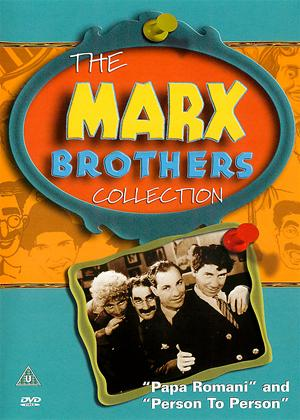 The Marx Brothers: Papa Romani / Person to Person Online DVD Rental