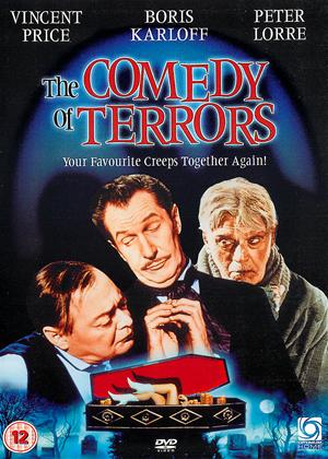 Rent The Comedy of Terrors Online DVD Rental