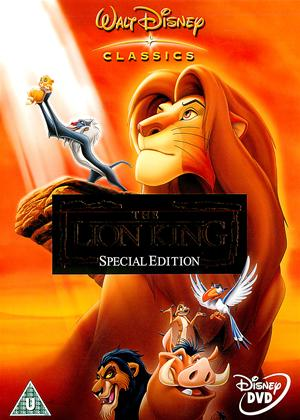 Rent The Lion King Online DVD Rental