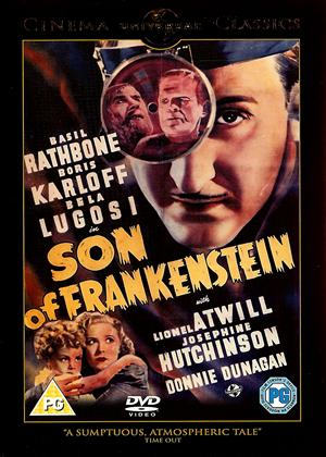 Rent Son of Frankenstein Online DVD Rental