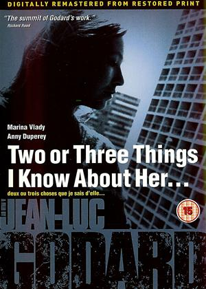 Rent Two or Three Things I Know About Her (aka 2 ou 3 choses que je sais d'elle) Online DVD Rental
