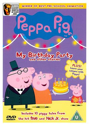 Peppa Pig: My Birthday Party and Other Stories Online DVD Rental
