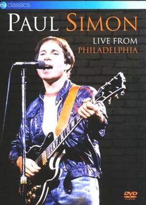 Paul Simon: Live from Philadelphia Online DVD Rental
