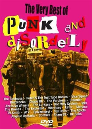The Very Best of Punk and Disorderly Online DVD Rental