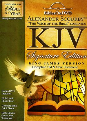 Rent Alexander Scourby KJV Signature Edition Bible Online DVD Rental