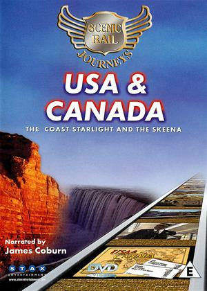 Scenic Rail Journeys: USA and Canada: The Coast Starlight and The Skeena Online DVD Rental