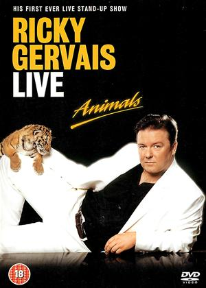 Rent Ricky Gervais: Animals: Live Online DVD Rental