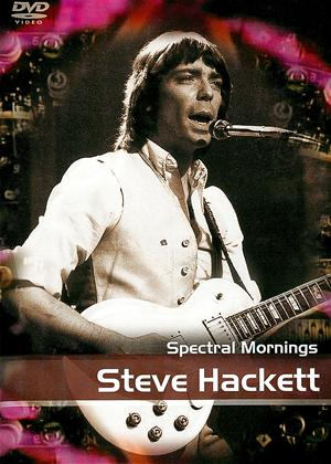 Rent Steve Hackett: Spectral Mornings Online DVD Rental
