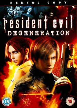 Resident Evil: Degeneration Online DVD Rental