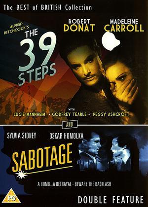 39 Steps / Sabotage Online DVD Rental