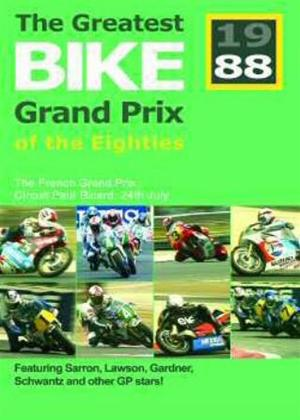 Rent Great Bike GPs of the 80s: France 1988 Online DVD Rental