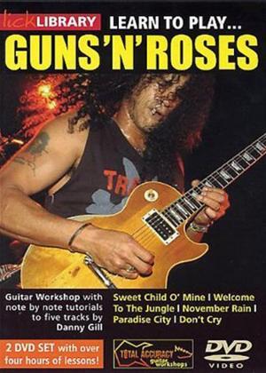 Rent Learn to Play Guns 'n' Roses: Vol.2 Online DVD Rental