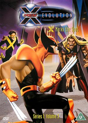 Rent X-Men Evolutions: X Marks the Spot Online DVD Rental
