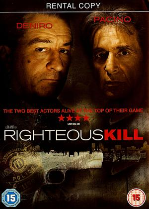 Rent Righteous Kill Online DVD Rental