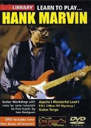Rent Lick Library: Learn to Play Hank Marvin Online DVD Rental