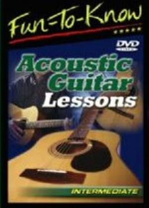 Rent Acoustic Guitar Lessons: Intermediate Online DVD Rental