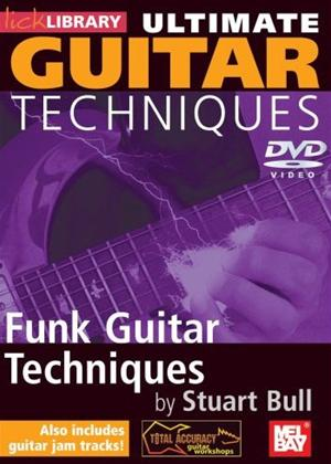 Rent Ultimate Guitar: Funk Techniques Online DVD Rental