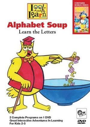 Rent Alphabet Soup: Learn the Letters Online DVD Rental