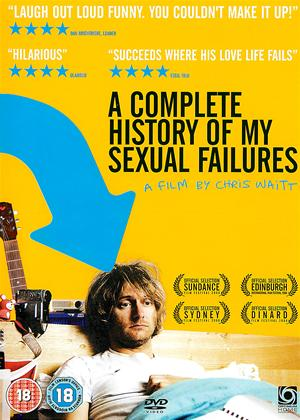 Complete History of My Sexual Failures Online DVD Rental