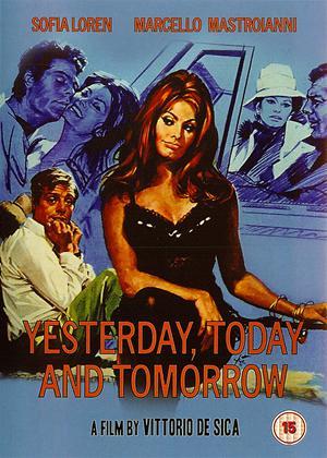 Rent Yesterday, Today and Tomorrow (aka Ieri, oggi, domani) Online DVD Rental