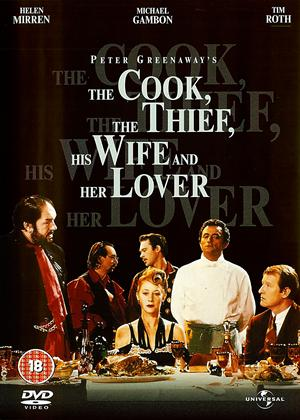 The Cook, the Thief, His Wife and Her Lover Online DVD Rental