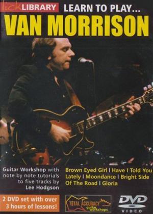 Rent Learn to Play Van Morrison Online DVD Rental