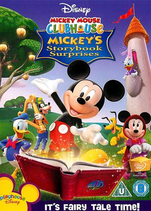 Rent Mickey Mouse Clubhouse: Mickey's Storybook Suprises Online DVD Rental