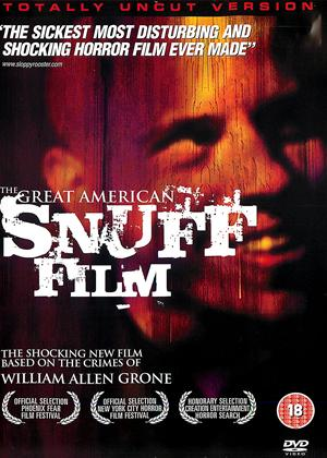 Rent The Great American Snuff Film Online DVD Rental