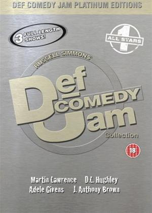 Rent Def Jam Comedy Platinum Edition 1 Online DVD Rental